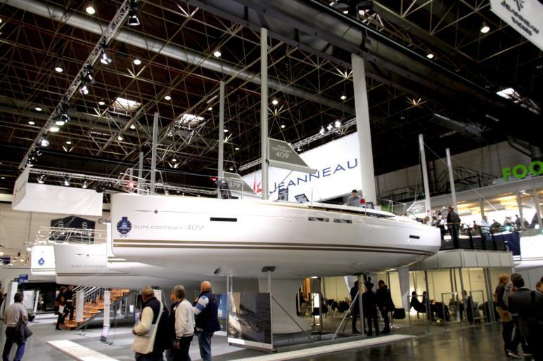Dusseldorf Boat show 2019 jeanneau